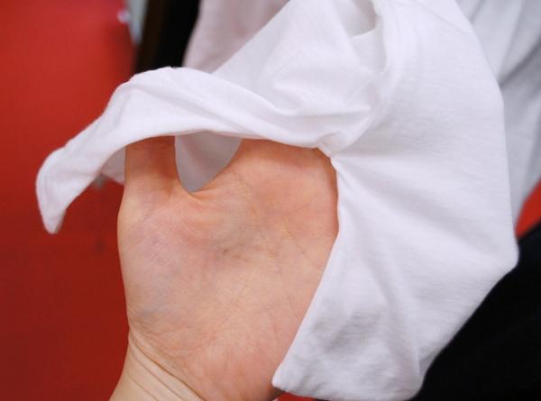 黒田知永子 ブランド 着姿すっきり【ラウンドネック二枚仕立てTシャツ】(Kcarat)ケイカラット