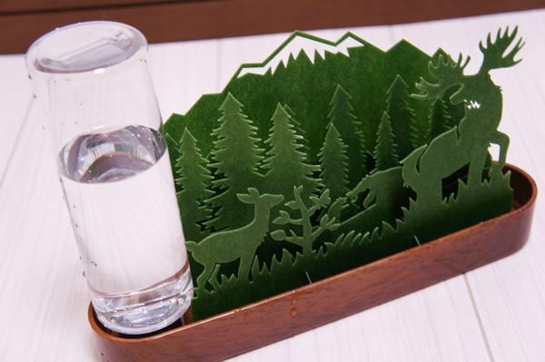 北欧の森Forest エコ加湿器 ペーパー加湿器 紙の加湿器 自然気化式加湿器 野杁製作所