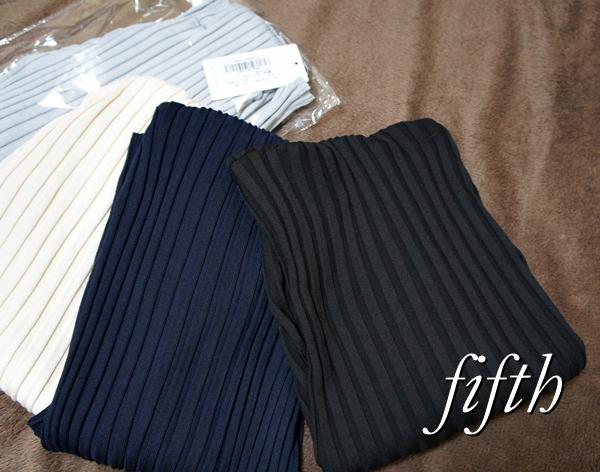 フィフス fifth フィットニットシリーズ