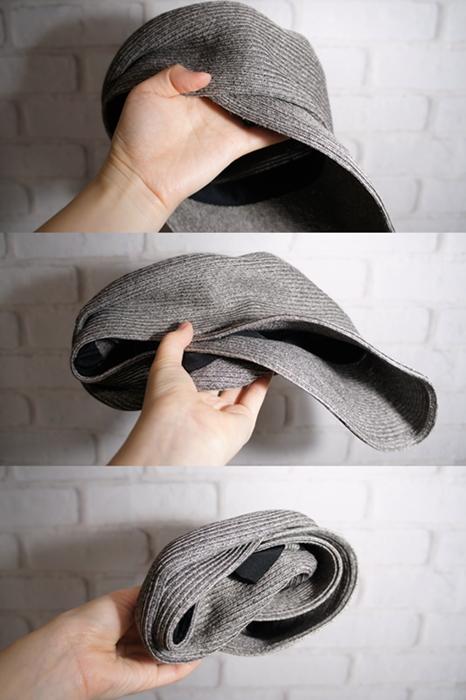 三京商会 日本製ペーパー糸の折り畳めるマリンキャップ