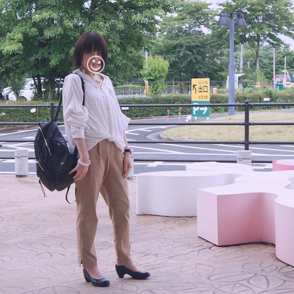 フェリシモ IEDIT 歩くたびに空気が通る 涼やかパンツ テーパード