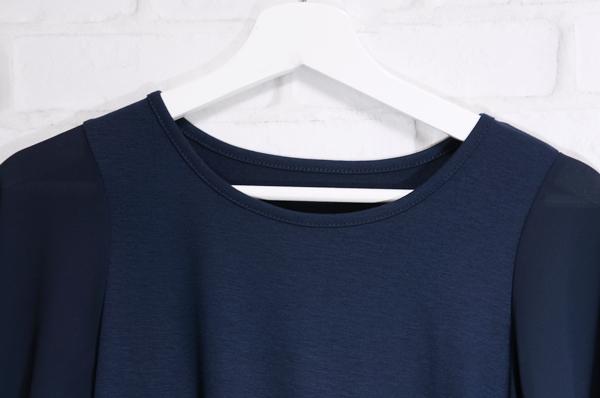 オシャレウォーカーフレアスリーブデザインTシャツ