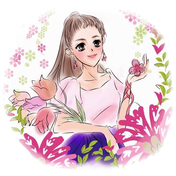 ヴェラブラッドリー【2014春】コレクションイラストJulep Tulip