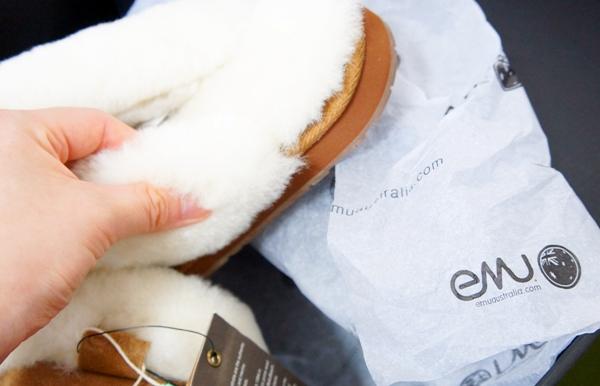 EMU(エミュ)のシープスキンブーツ