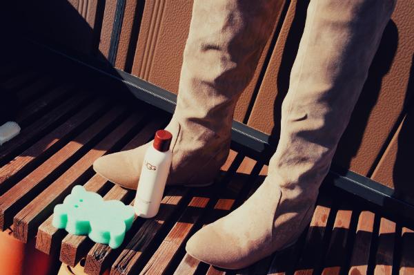 UGGシープスキンクリーナー&コンディショナー 洗い方