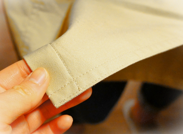 ベルメゾンデイズ 熟成綿でつくった 軽くて柔らかなトレンチコー ト