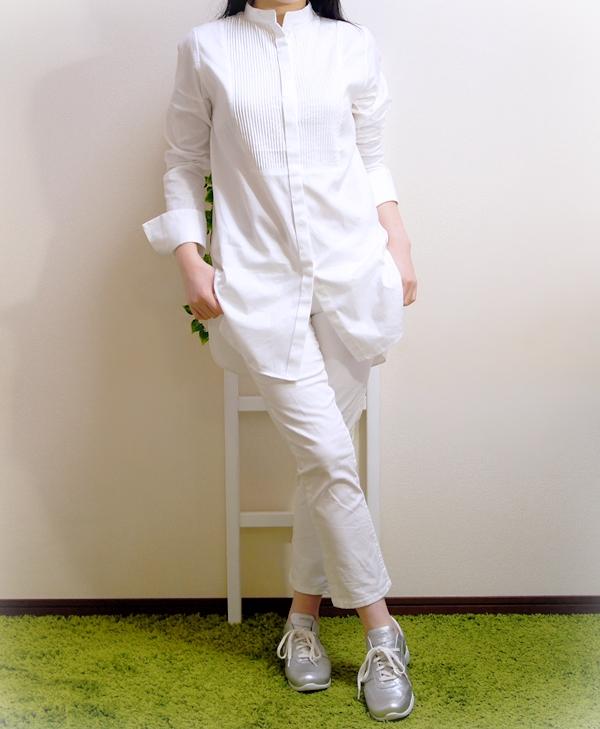黒田知永子ブランド ベルメゾン ケイカラット ピンタックシャツ(Kcarat)
