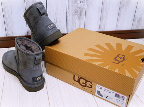 UGGブーツ アグブーツ クラシックミニ グレー