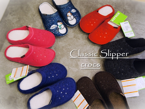 クロックス Classic Slipper クラシック スリッパ