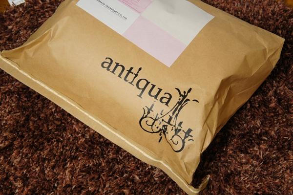 antiqua アンティカ ボアコート ブルー系