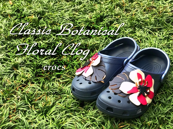 Classic Botanical Floral Clog クラシック ボタニカル フローラル クロッグ