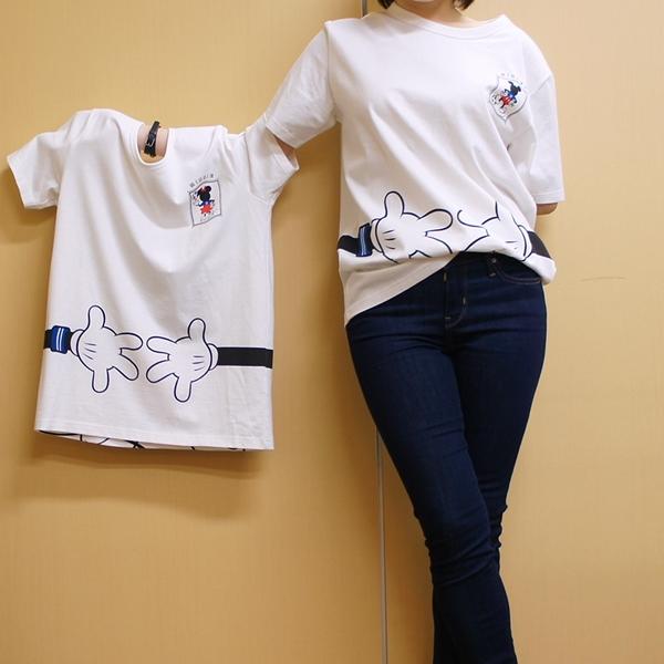 ベルメゾン ディズニー みんなでつながるサッカー応援ディズニーTシャツ サムライブルー サッカーFIFA