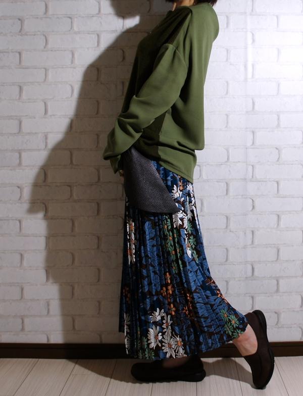 アンティカantiqua 綺麗な首元で大人女子スタイルを格上げ。異素材トップス##