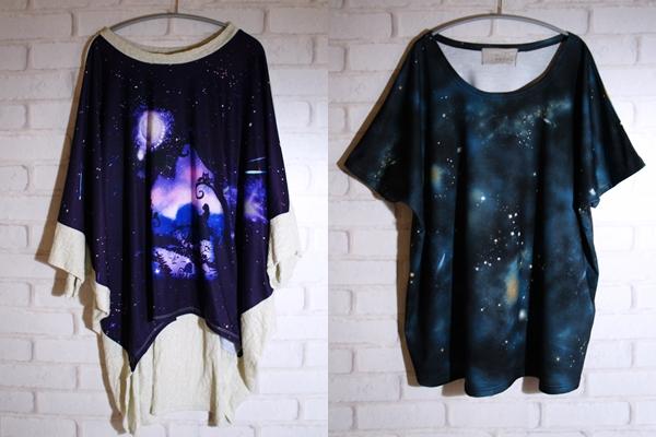 宇宙柄 コズミック コスモ Tシャツ
