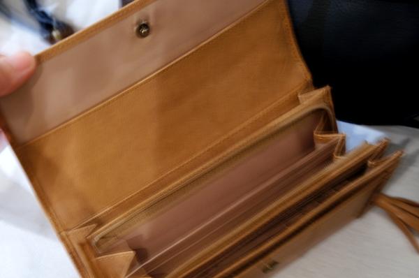 フェリシモ 浜島直子さん はまじとコラボ リブ イン コンフォート ずっと使いたい とっておきの本革長財布