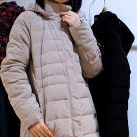フェリシモ リブ イン コンフォート 寝袋みたいに最強あったか 美人シルエットの超ロングダウンコート