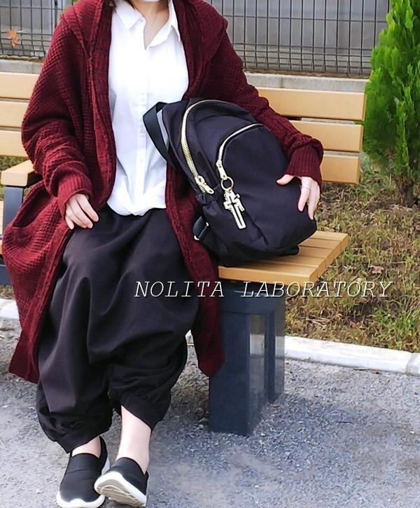 NOLITA LABORATORY ノリータ リッチジップリュックサック