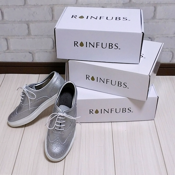 RAINFUBS (レインファブス) ウィングチップ レインスニーカー LUWANZ ルワンズ