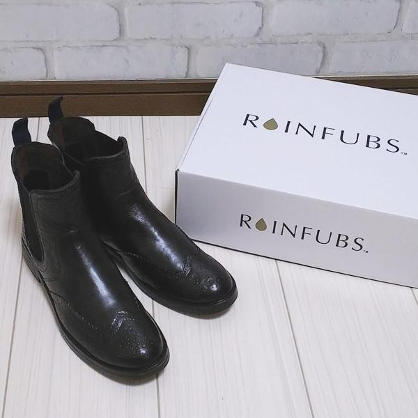 RAINFUBS (レインファブス) ウィングチップ レインブーツ リーン LEEN