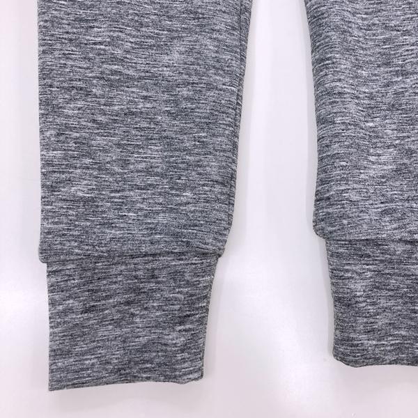 フェリシモfelissimo 立体シルエットの裏ボアカットソーパンツ 裾