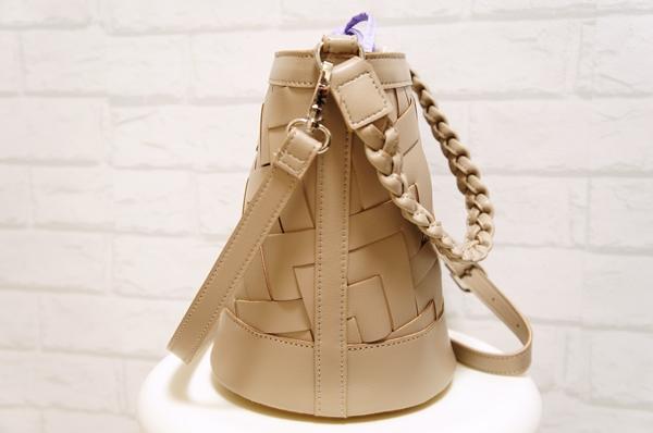 フェリシモくぼっち★とコラボ バケツ型ショルダーメッシュバッグ